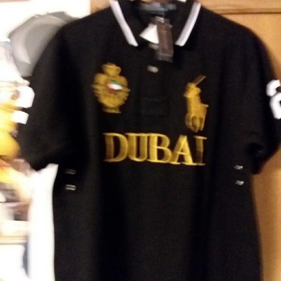 Shirt Nwt Ralph Horse Lauren Polo Dubai Large cRj4Lq35A
